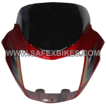 Buy FRONT FAIRING (VISOR) STAR CITY UB WITH OET GLASS ZADON on  % discount