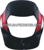 Buy FRONT FAIRING (VISOR) VICTOR GLX OM UB WITH OET GLASS ZADON on  % discount