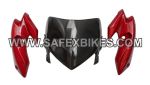 Buy FRONT FAIRING (VISOR) HUNK OM SET OF 3 ZADON on  % discount
