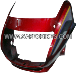 Buy FRONT FAIRING (VISOR) SUPER SPLENDOR UB WITH OET GLASS ZADON on  % discount