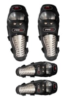 Buy PRO-X STEEL ELBOW & KNEE GUARD FOR BIKERS PROTECTION on  % discount