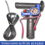 Buy PERFORMANCE ACCELERATOR ASSY WITH CABLE FOR MOTORCYCLE BUNGBON on  % discount