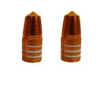 Buy FANCY TYRE NOZZLE CAP (ORANGE) (SET OF TWO) ZADON on  % discount