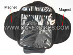 Buy BLACK TANK BAG WITH MAGNET FOR ROYAL ENFIELD BULLET ZADON on  % discount
