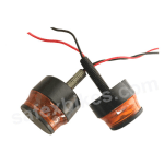 Buy HANDLE BAR END CAP LED LIGHT ORANGE ROADYS on  % discount