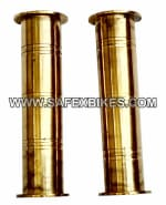 Buy BRASS HANDLE GRIP FOR ROYAL ENFIELD BULLET ZADON on 15.00 % discount