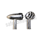 Buy CHROME PLATED INDICATOR ASSY SMALL WITH LED SET OF 4 FOR ROYAL ENFIELD BULLET ZADON on 15.00 % discount