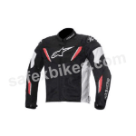 Buy ALPINESTARS T-GP R AIR JACKET (BLACK,WHITE,RED) UNIVERSAL on 5.00 % discount
