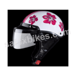 Buy HELMET STUDD TROY HAPPY N8 OPEN FACE FOR LADIES STUDDS on  % discount
