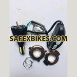 Buy LED HEAD LAMP FOR MOTORCYCLE M02H 42 WATT RING TYPE ROADYS on 0.00 % discount
