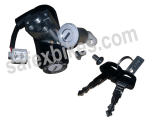 Buy LOCK SET HONDA AVIATOR JUSHIN on 10.00 % discount