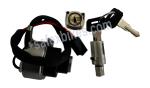 Buy LOCK KIT RX100 SET OF 3 (with fuel tank lid lock) MINDA on  % discount