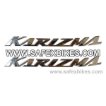 Buy PETROL TANK MONOGRAM SET KARIZMA CHROME ZADON on  % discount