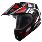 Buy MOTOCROSS HELMET SB-42 BANG TRIO MAT BLACK WITH RED (600MM) STEELBIRD on 0 % discount