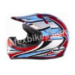 Buy HELMET SB-16 STEELBIRD MOTO CROSS-X RED FULL FACE on  % discount