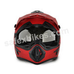 Buy Vega motocross full face Helmet - Off Road (Dull Red) on 0 % discount
