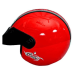 Buy GLIDERS NXT CUTE OPEN FACE HELMET RED on  % discount