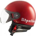 Buy OPEN FACE HELMET SB-27 STYLE CHERRY RED (600MM) STEELBIRD on  % discount