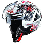 Buy HELMET DOWNTOWN OPEN FACE D1 DECOR STUDDS on  % discount