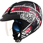 Buy HELMET MARSHALL OPEN FACE D4 DECOR STUDDS on  % discount