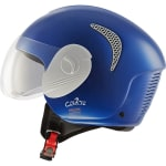 Buy STEELBIRD-OPEN FACE HELMET SB-36 CURVE (TWO TONE H.BLUE WITH WHITE) (60 CM) on  % discount