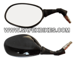 Buy REAR VIEW MIRROR GLAMOUR BLACK RHS SLD on  % discount