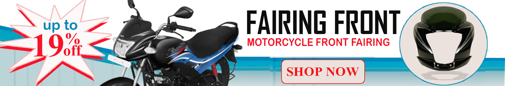 Special offers on Genuine Motorcycle Spare Parts And Accessories - Upto 19% Off On Fairing Front (Visor)
