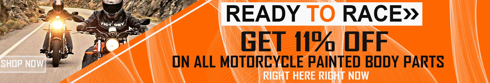 Special offers on Genuine Motorcycle Spare Parts And Accessories - 11% OFF ALL PAINTED BODY PARTS