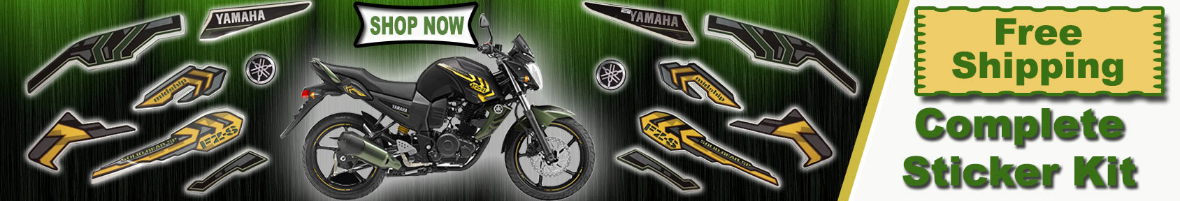 Special offers on Genuine Motorcycle Spare Parts And Accessories - Get Free shipping on complete sticker kit