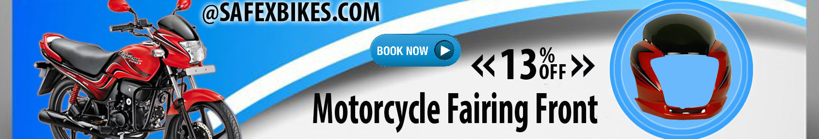 Special offers on Genuine Motorcycle Spare Parts And Accessories - Get 13percent off on front fairing