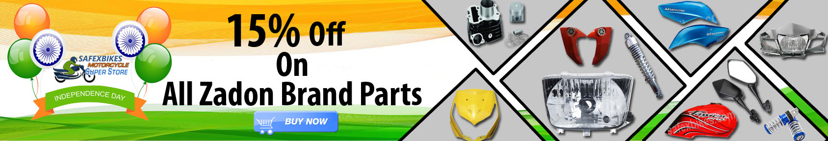 Special offers on Genuine Motorcycle Spare Parts And Accessories - Independence Day