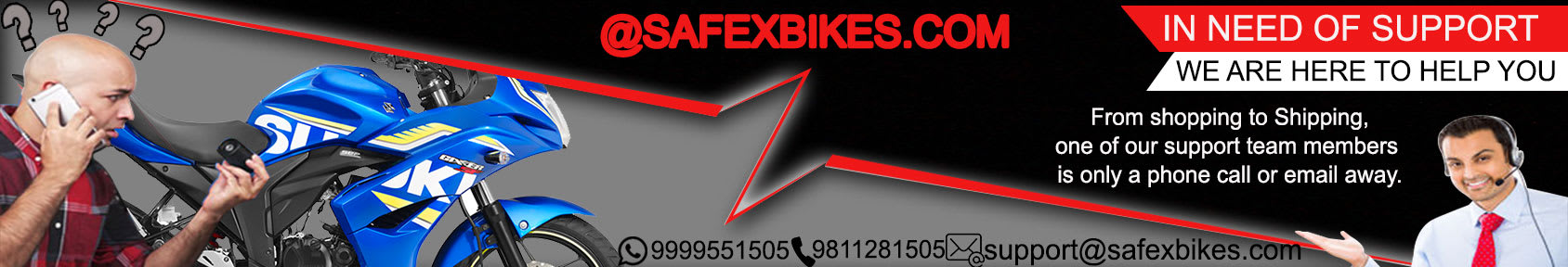 Special offers on Genuine Motorcycle Spare Parts And Accessories - For support you can call us