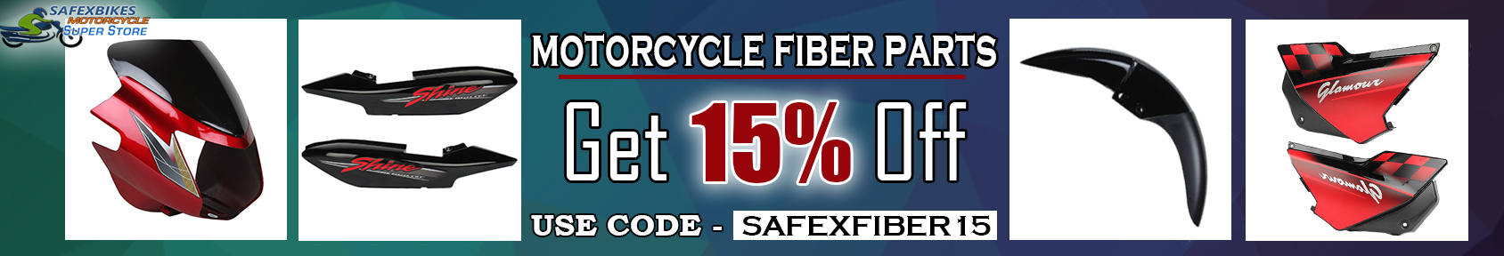 Special offers on Genuine Motorcycle Spare Parts And Accessories - Get 15% off on Plastic body parts