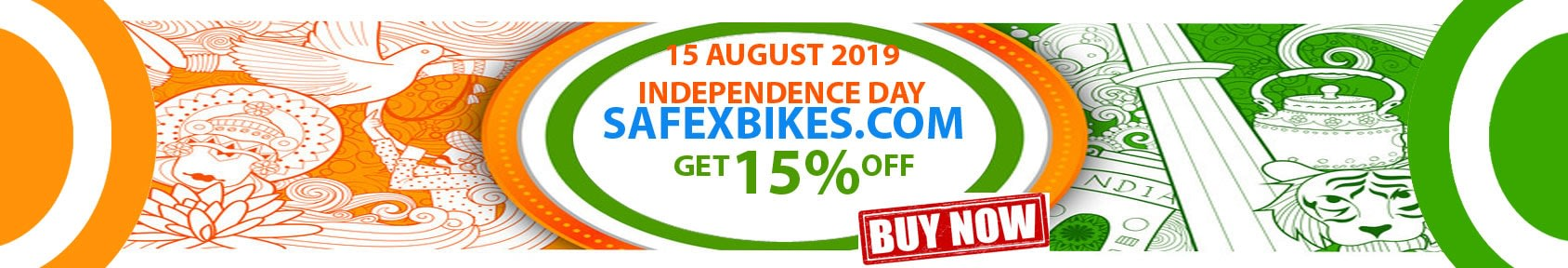 Special offers on Genuine Motorcycle Spare Parts And     Accessories - 15 August Discount