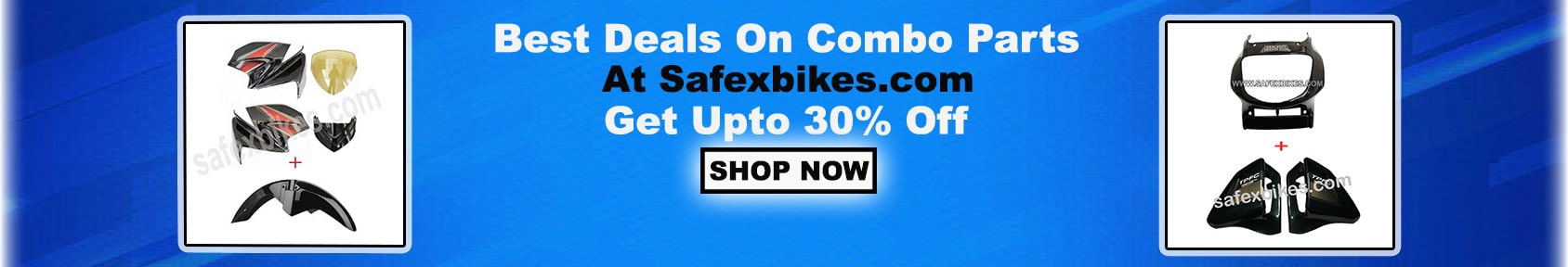 Special offers on Genuine Motorcycle Spare Parts And  		   Accessories - Buy Motorcycle and Scooter Accessories in Combo Packs at 50% Discount