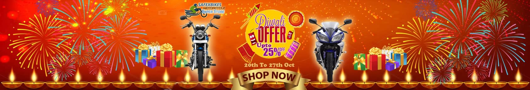 Special offers on Genuine Motorcycle Spare Parts And     Accessories - Diwali Dhamaka