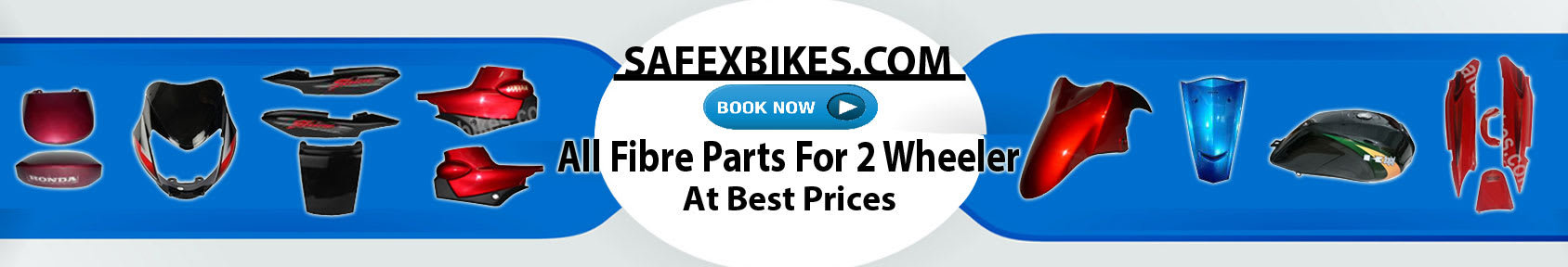 Special offers on Genuine Motorcycle Spare Parts And  		   Accessories - Get fibre parts at best prices