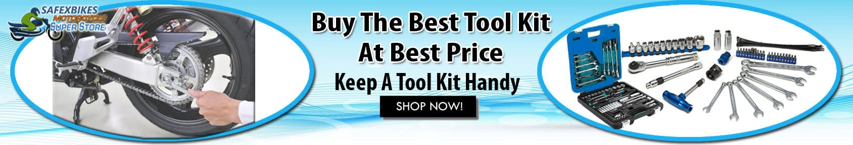 Special offers on Genuine Motorcycle Spare Parts And  		   Accessories - Buy Tool kit for motorcycle