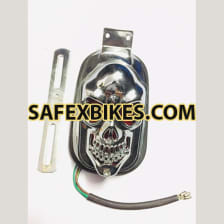 Buy STYLISH SKULL TAIL LIGHT ASSY UNIVERSAL on 10.00 % discount