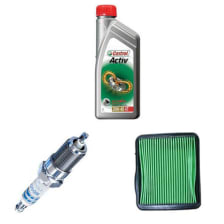 Buy BIKE ENGINE OIL 4T CASTROL WITH AIR FILTER AND SPARK PLUG STUNNER ZADON on 10.00 % discount