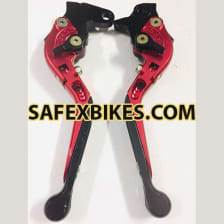 Buy RIDE IT ADJUSTABLE LEVER SET FOR MOTORCYCLE (MAROON) on 16.00 % discount