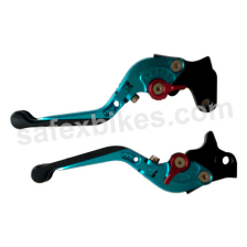 Buy MOXI ADJUSTABLE LEVER SET FOR MOTORCYCLE (BLUE) on 0 % discount