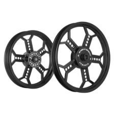 Buy ALLOY WHEEL SET FOR RE CLASSIC COPPER COMPLETE BLACK KINGWAY on 10.00 % discount