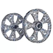 Buy ALLOY WHEEL SET FOR RE CLASSIC FATBOY HARLEY GUN PRINTING KINGWAY on 10.00 % discount