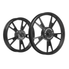 Buy ALLOY WHEEL SET FOR RE CLASSIC 10SPOKES COMPLETE BLACK KWAT3B KINGWAY on 15.50 % discount