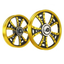 Buy ALLOY WHEEL SET FOR RE STANDARD GOLDEN FATBOY HARLEY KINGWAY on  % discount