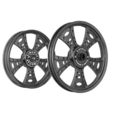 Buy ALLOY WHEEL SET FOR RE STANDARD WAVEDESIGN IN BLACK SPOKES 13 SPOKES HARLEY TYPE KINGWAY on 0.00 % discount