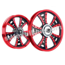 Buy ALLOY WHEEL SET FOR RE CLASSIC IGNEOUS BLACK FATBOY HARLEY KINGWAY on 0.00 % discount