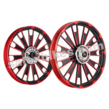 Buy ALLOY WHEEL SET FOR RE CLASSIC RED ZIPP HARLEY KINGWAY on 0.00 % discount