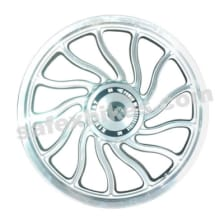 Buy ALLOY WHEEL SET FOR RE CLASSIC SILVER 13SPOKES HARLEY KINGWAY on 0.00 % discount
